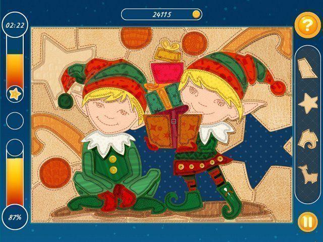Мозаика. Пазл. Рождество